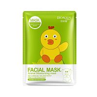 Тканевая маска Bioaqua Facial Mask Animal (цыпленок)