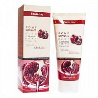 Пенка для умывания с экстрактом граната Farm Stay Pomegranate Pure Cleansing Foam