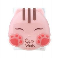 Пудра для лица Tony Moly Cats Wink Clear Pact 01
