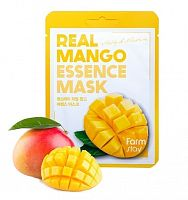 Тканевая маска для лица с экстрактом манго FarmStay Real Essence Mask