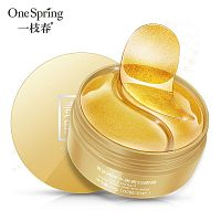 Патчи для глаза One Spring Gold Extract Hydra Noble Lady Eye mask