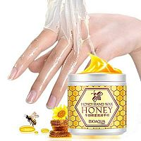 МАСКА-ПЛЕНКА BioAqua Honey Hand Wax Mask