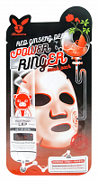 Тканевая маска для лица с красным женьшенем Elizavecca Red GInseng Deep Power Ringer mask pack