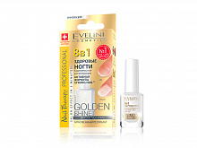 Препарат  8 в 1 Комплексная регенерация Eveline GOLDEN SHINE NAIL 12 мл